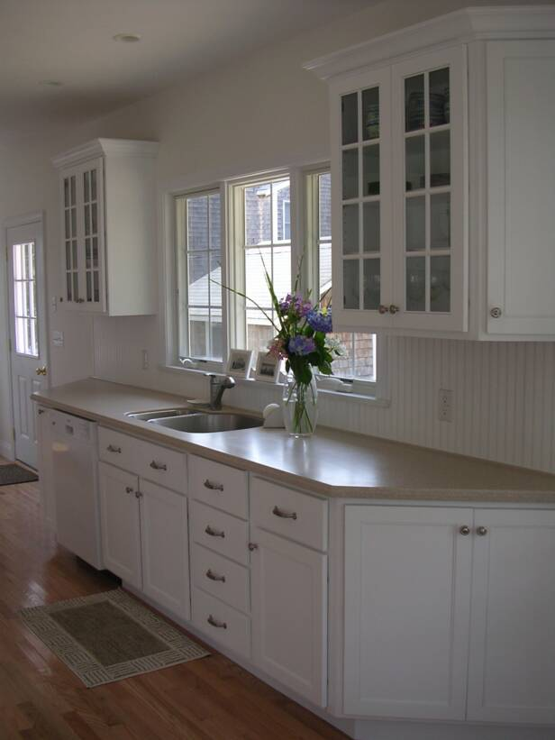 New Kitchen  Pocasset  MA  Design  custom cabinets and countertops